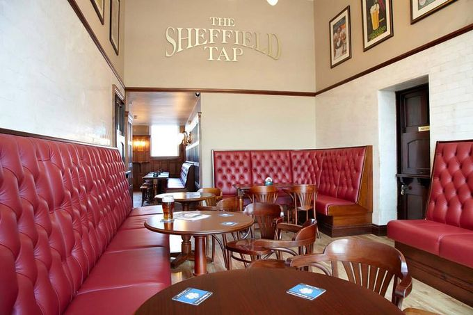 The Sheffield Tap has plenty of snugs to get cosy in