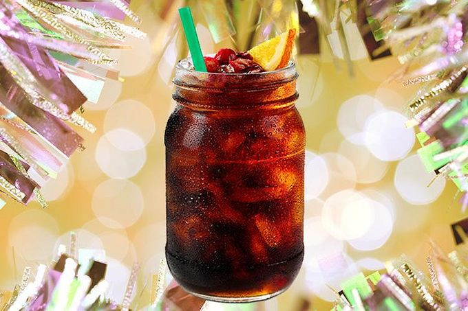 Starbucks' Festive Cold Brew