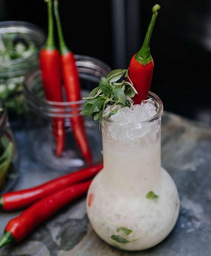 Have you tried The Botanist's Thai Chilli Crush cocktail yet?