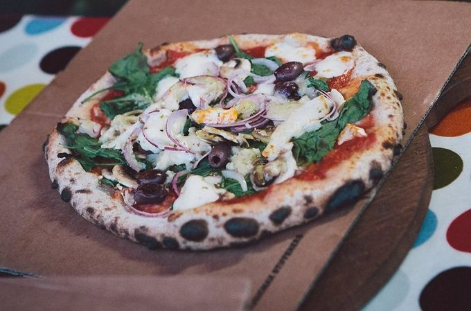Enjoy The Sunshine Pizza Oven's hand-stretched pizzas across the weekend