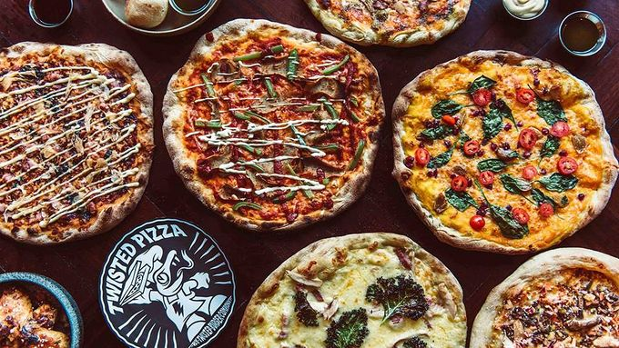There's a new pizza place opening its doors in the city...