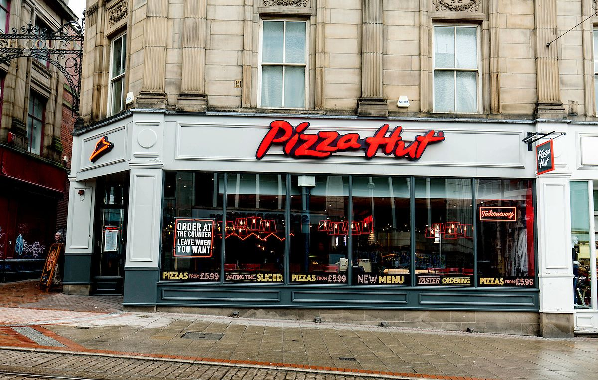 Pizza Hut Reveals New Look