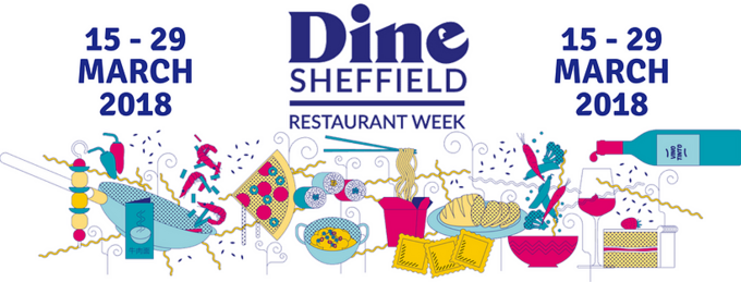 Dine Sheffield, Sheffield city centre, 15 - 29 March