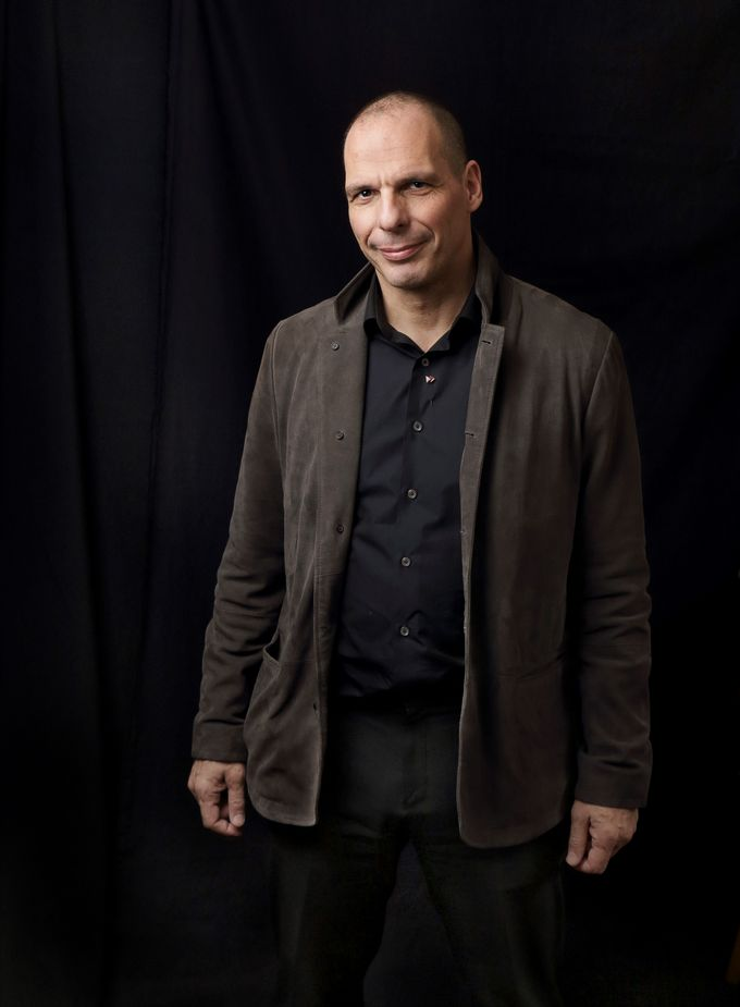 Yanis Varoufakis, former Greek Minister of Finance, talks in association with DiEM25 on 18 April