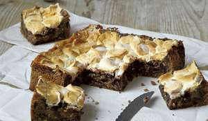 Candice Brown's Peanut Butter Blondie Recipe | Easy Baking