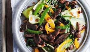 Duck Stir-Fry with Plum Sauce by Annabel Karmel