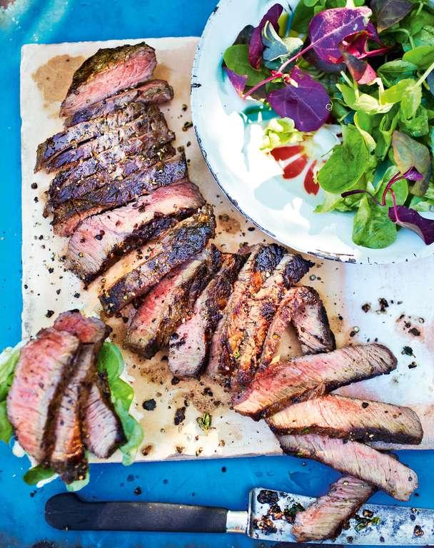 Seasoned-up Pepper Steak