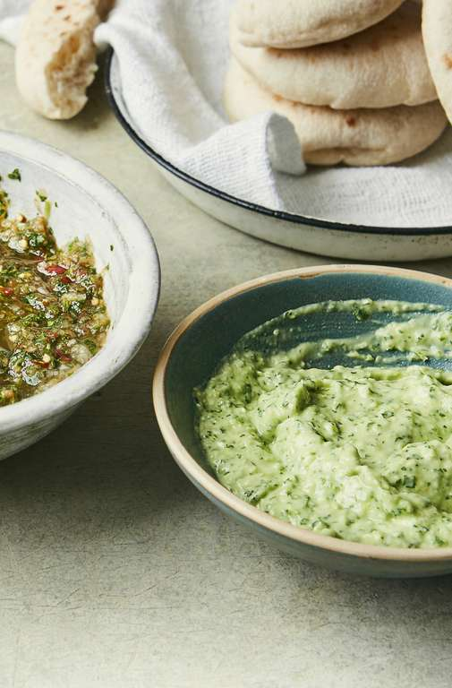 Munira Mahmud's Green Chilli and Avocado Dip