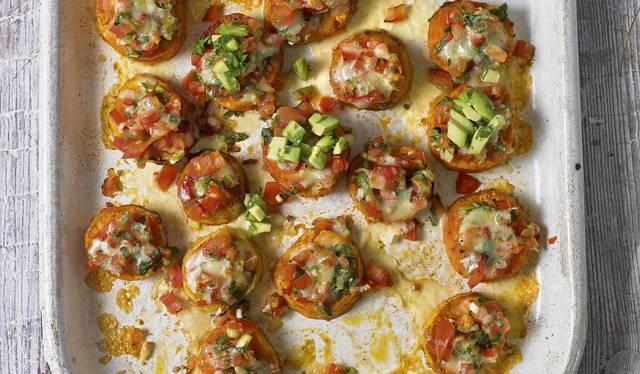 Eat Well For Less Sweet Potato Nachos Recipe Bbc 1 Series