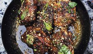 Berber & Q Smoked Chicken Thighs Recipe