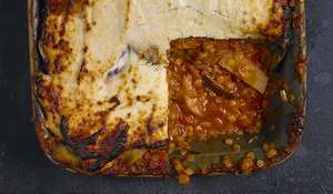 Red Lentil and Aubergine Moussaka Recipe | Eat Well For Less BBC 1
