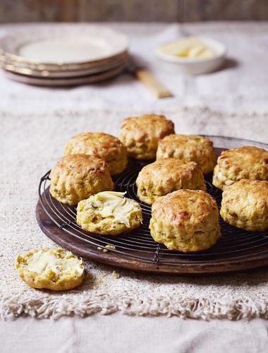 Roast Pumpkin Scones from The Great British Bake Off Winter Cookbook
