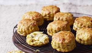 Roast Pumpkin Scones from The Great British Bake Off Winter Cookbook