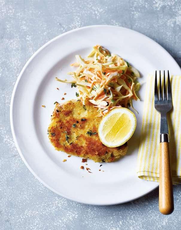 Lemon, Garlic, and Thyme Pork Escalopes