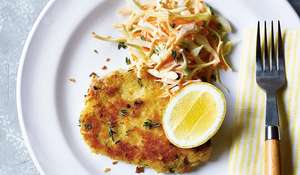 Crispy Lemon, Garlic & Thyme Pork Escalope | Quick Dinner Recipe