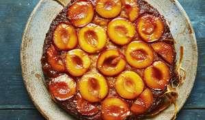 Caramelised Plum Upside-Down Cake | Together, Our Community Cookbook