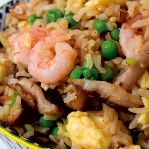 Pea prawn and mushroom egg fried rice ccuart Gallery