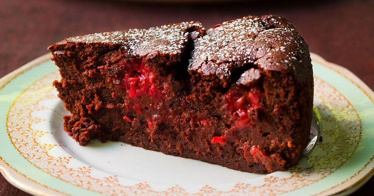 Nigella Lawsons Chocolate Raspberry Pudding Cake