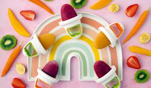 Strawberry, Beetroot and Apple Lollies | Baby Weaning Recipe