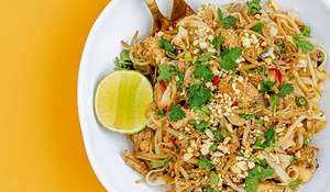 Fitness Chef Chicken Pad Thai | Healthy Noodle Recipe
