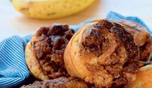 Banana and Nutella Muffins