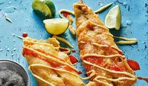 Rick Stein's Battered Mexican Fish | Easy Fish Starter