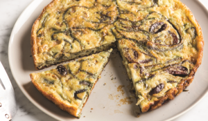 Rosemary, Olive and Onion Frittata
