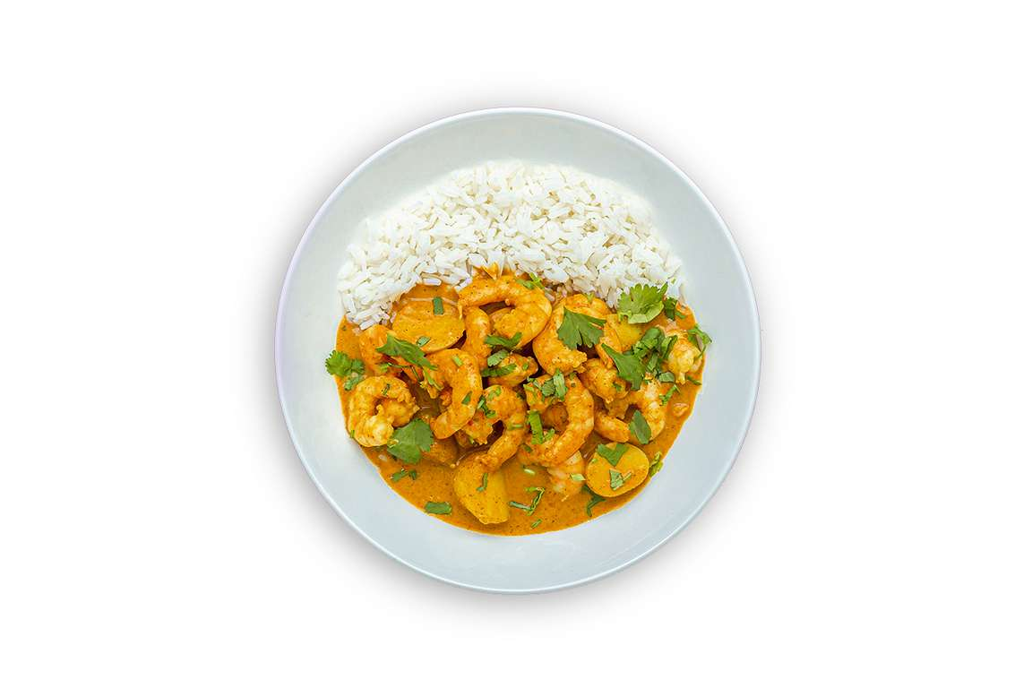 Massaman Prawn Curry