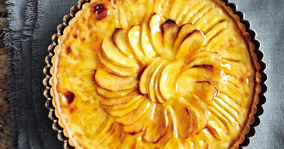Somerset Apple Tart The Happy Foodie