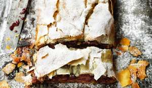 Croatian Sour Cherry Strudel from Rick Stein: From Venice to Istanbul