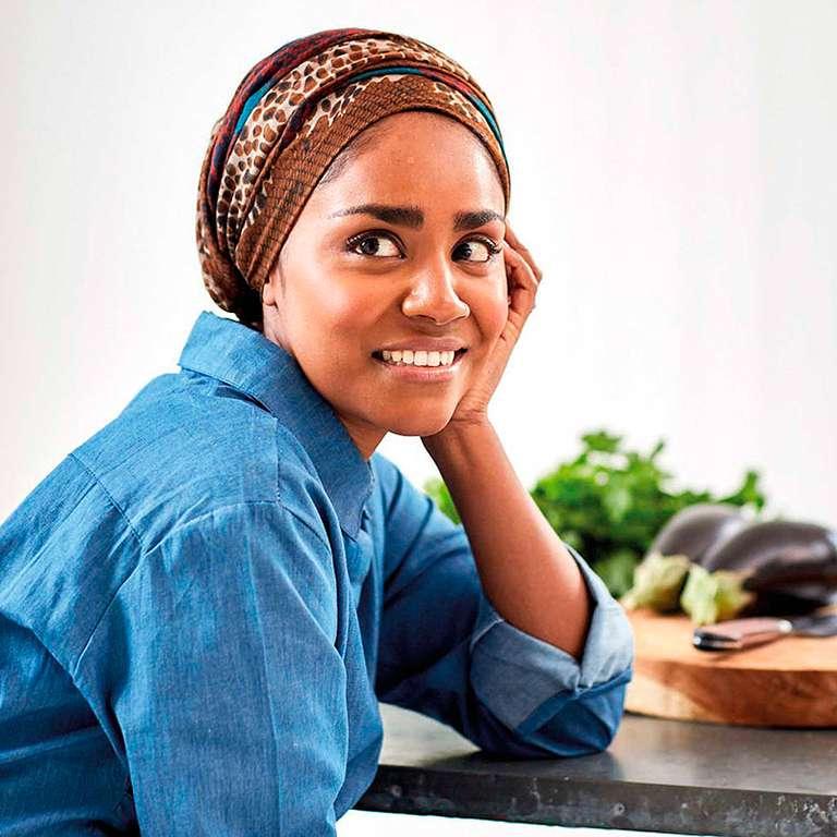 Nadiya Hussain's Jollof Pilau with Salted Cucumber Salad