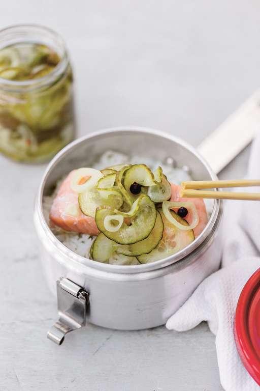 Gin-pickled Cucumber