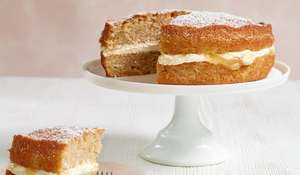 Apple & Lemon Sandwich Cake Recipe | Mary Berry Quick Cooking Series - Easy Sponge Cake Recipe