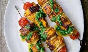 Spiced Salmon Skewers | Easy Middle Eastern Kebab Recipe