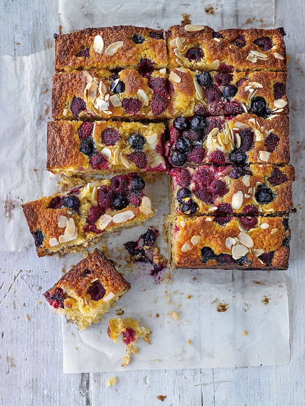 Bake Sale Recipes Summer Berry Shortbread Cake