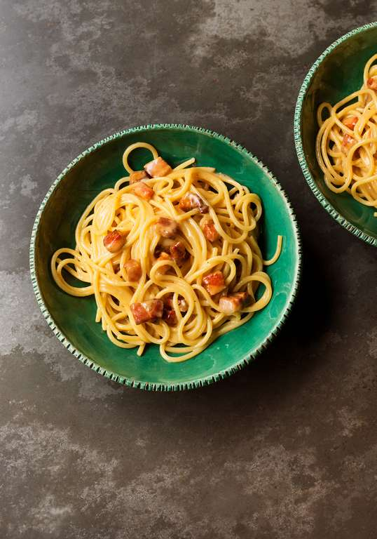 Nigella Lawson's Spaghetti Carbonara