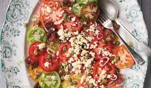 Amelia Freer's Heritage Tomatoes Salad