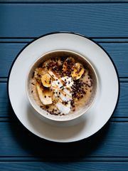 Blueberry Porridge The Happy Foodie