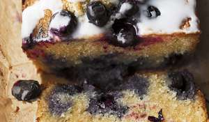 Ottolenghi's Blueberry, Almond and Lemon Loaf Cake Recipe