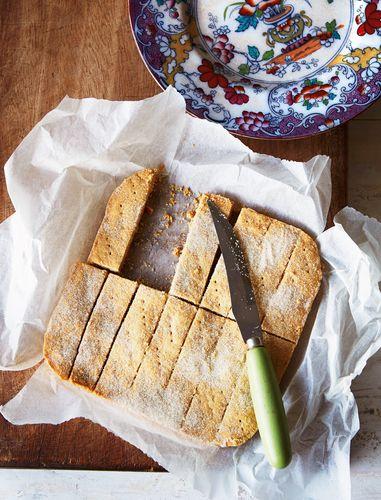 Shortbread recipe from The WI Cookbook