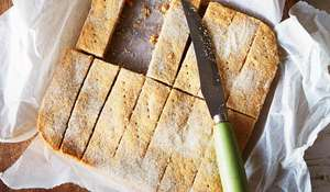 Shortbread recipe from The WI Cookbook