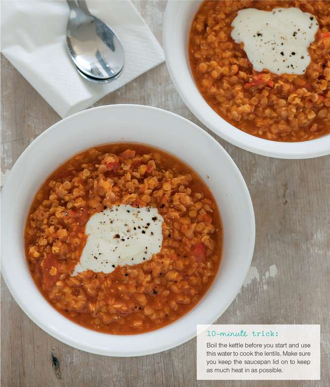 Hearty Red Lentil Soup