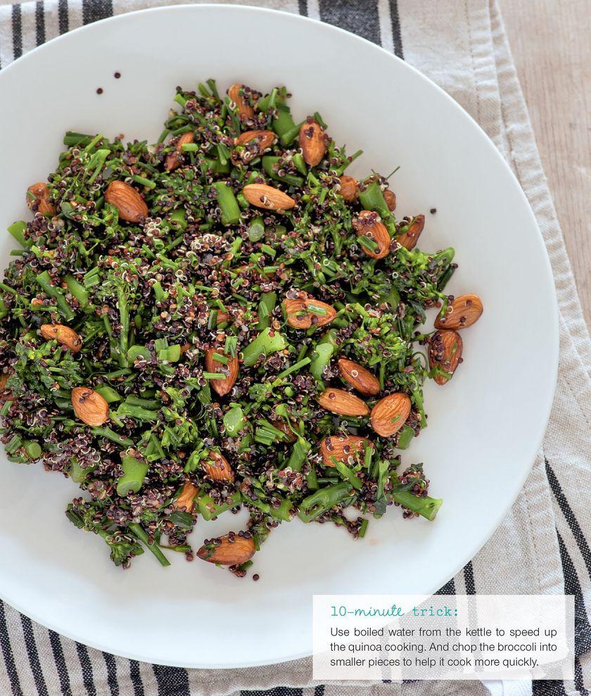 Easy Grain Store Cupboard Recipes | Quinoa & Broccoli Salad