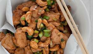 Stir-Fry of Cashew Nuts and Chicken