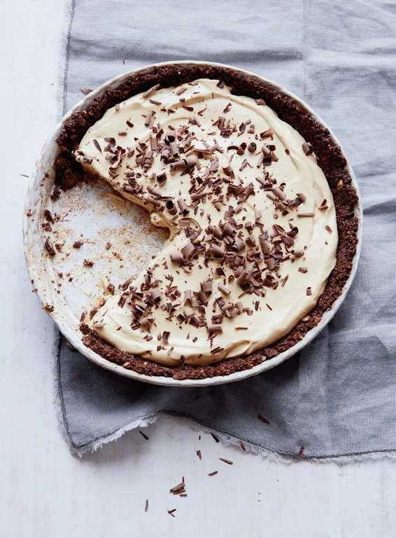 Butterscotch Banoffee Pie