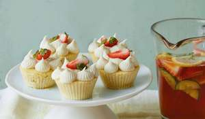 Six-Minute Pimm's Cupcakes | Easy Summer Baking Recipe