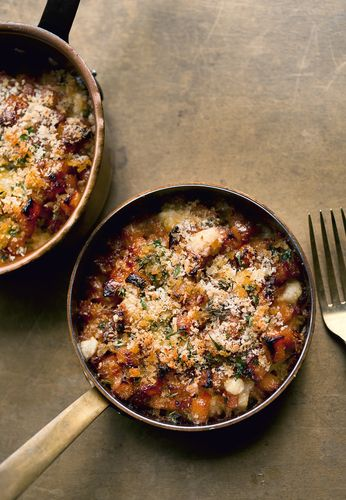 Fondant Swede Gratin from Ottolenghi and Scully's cookbook NOPI