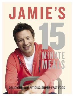 Cover of Jamie's 15-Minute Meals