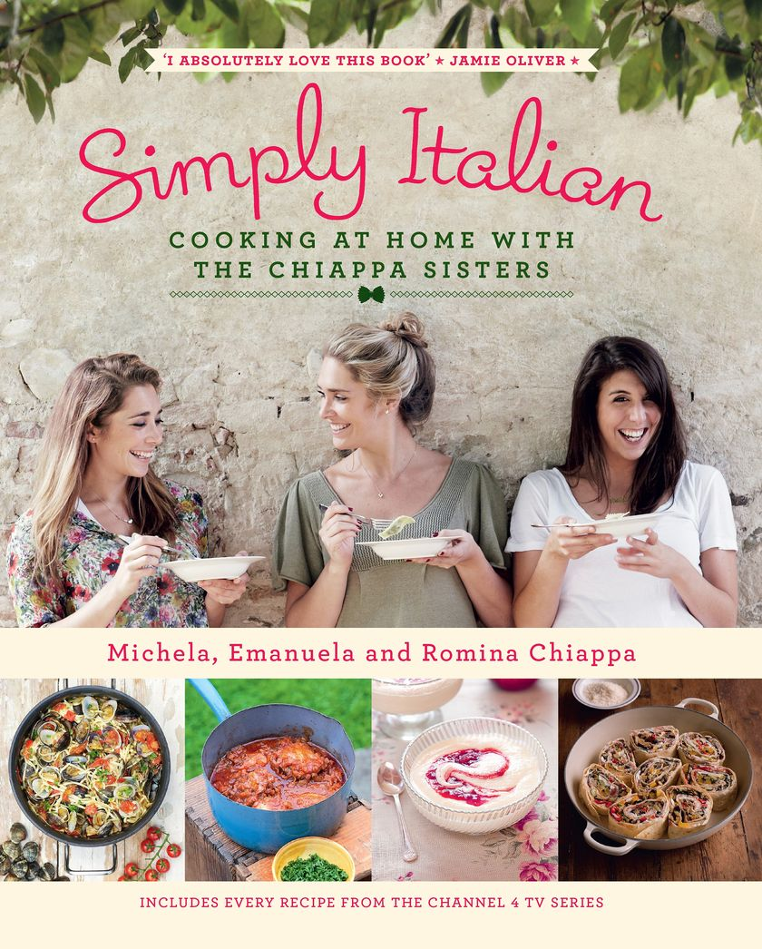 Simply Italian by Chiappa Sisters - Pasta Cookbook 5