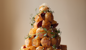 Croquembouche from Bread, Cake, Doughnut, Pudding